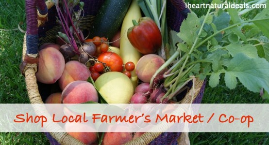 shop local farmers market / co-op