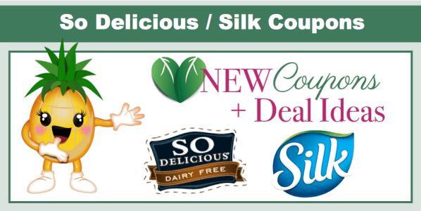 So Delicious / Silk Coupons