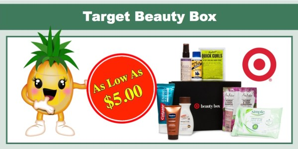 Target January Beauty Box