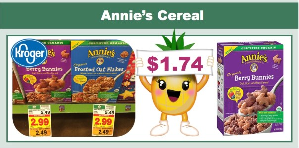Annie's Homegrown Organic Cereal Coupon Deal