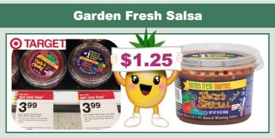 Garden Fresh Salsa Coupon Deal