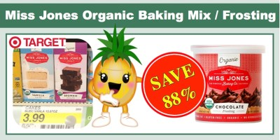 Miss Jones Organic Baking Mix and Frosting Coupon Deal