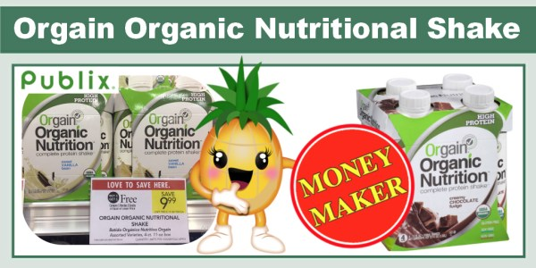 Orgain Organic Nutritional Shake Coupon Deal