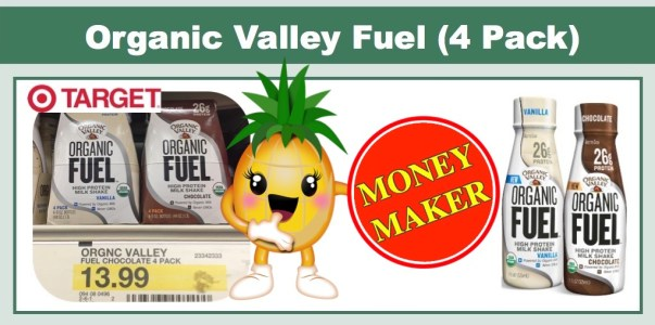 Organic Valley Organic Fuel Coupon Deal