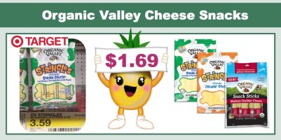 Organic Valley Cheese Snacks Coupon Deal