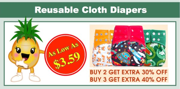 Pat Pat Reusable Cloth Diapers