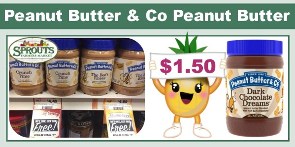 Peanut Butter & Co Peanut Butter Coupon Deal