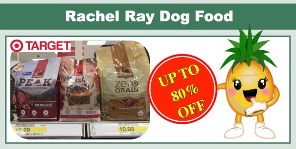 Rachael Ray Nutrish Dog Food Coupon Deal