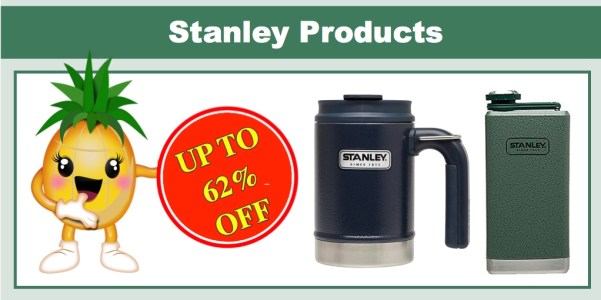 Up to 62% off Stanley Products