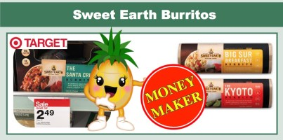 Sweet Earth Burritos Coupon Deal