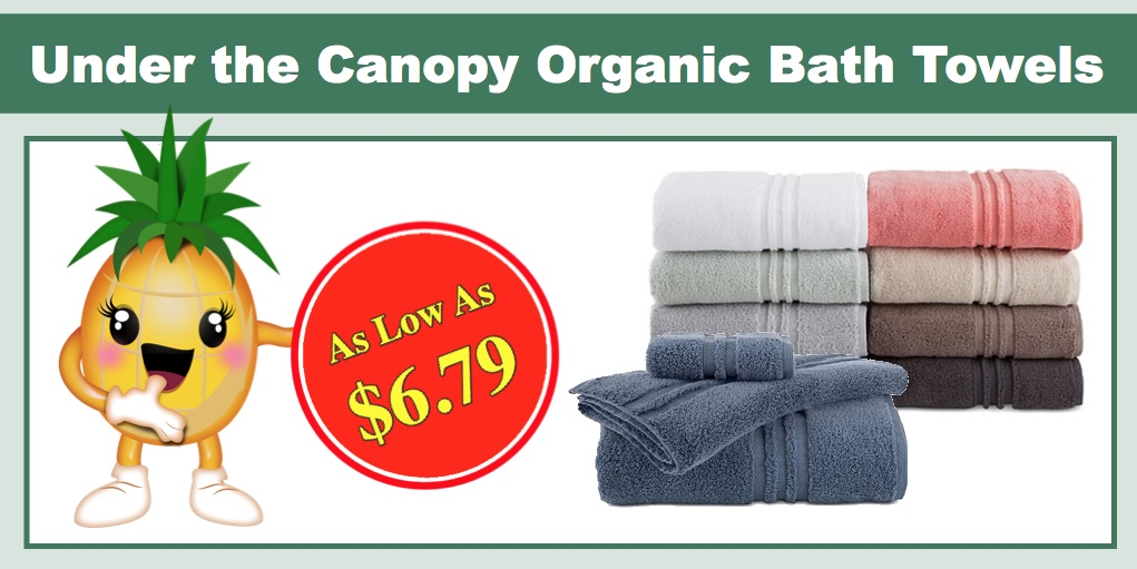 Under the Canopy Organic Bath Towel Collection - As Low As $6.79 (Reg $14.99+)!  sc 1 st  I Heart Natural Deals & Under the Canopy Organic Bath Towel Collection - As Low As $6.79 ...