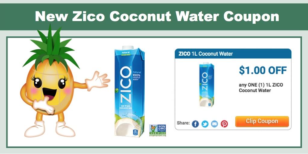 Zico coconut water coupon