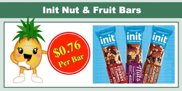 Init Nut & Fruit Bars
