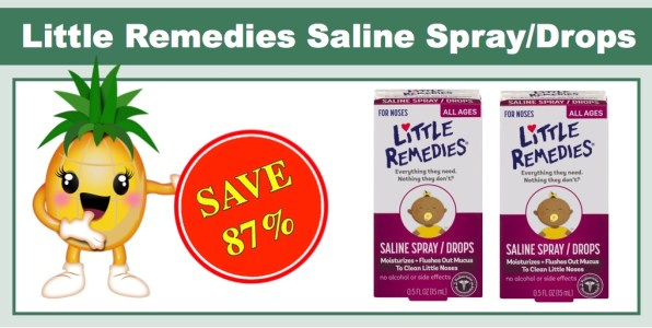 Little Remedies Saline Spray/Drops