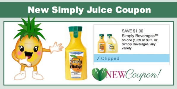 New Simply Juice Beverage Coupon