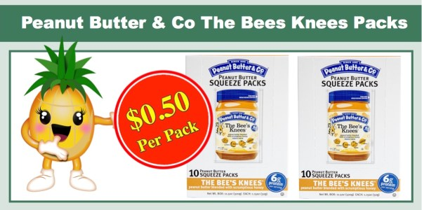 Peanut Butter & Co The Bees Knees Packs