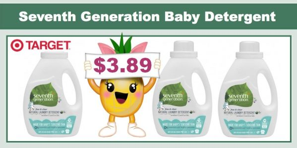 Seventh Generation Baby Laundry Detergent Coupon Deal