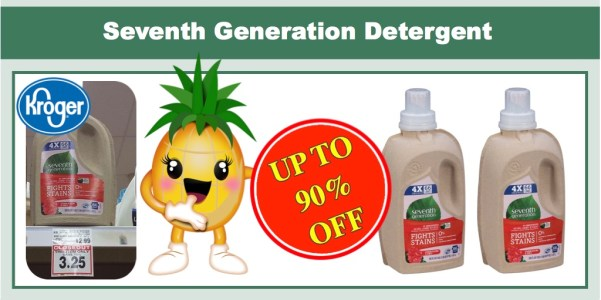 Seventh Generation Detergent Closeout