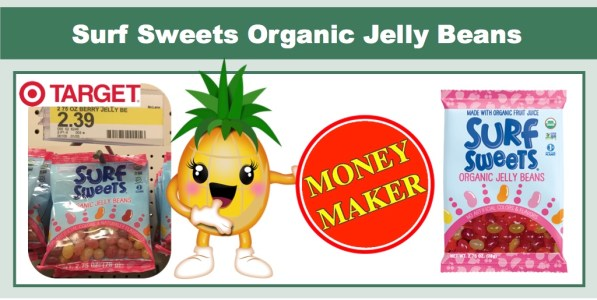 Surf Sweets Organic Jelly Beans Coupon Deal