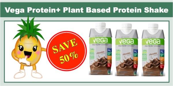 Vega Protein+ Plant Based Protein Shake
