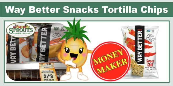 Way Better Snacks Tortilla Chips Coupon Deal