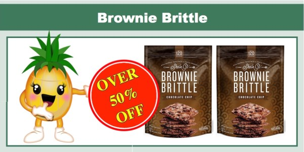 Over 50% off Sheila G's Brownie Brittle 16 Oz - ONLY $5.03!