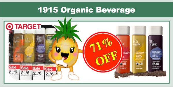 1915 Organic Beverage Coupon Deal