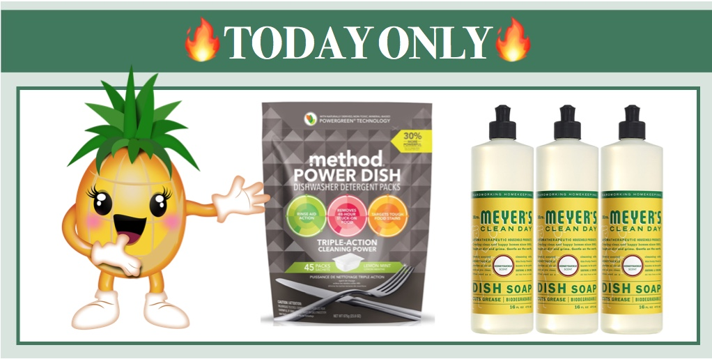 today only big savings on mrs meyers seventh generation and method u003d
