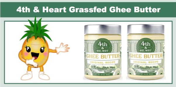 4th & Heart Grassfed Ghee Butter