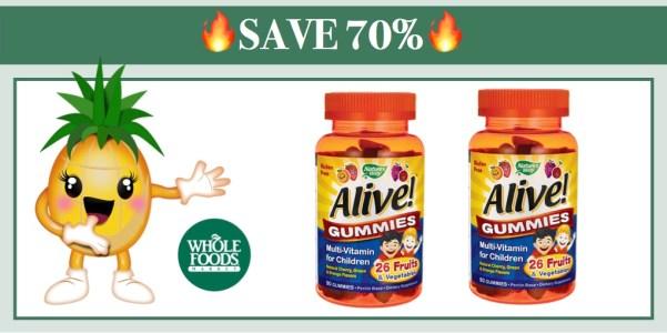 Alive Children's Multivitamin Gummies