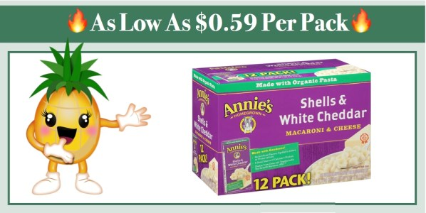 Annie's Macaroni and Cheese 12 Pack