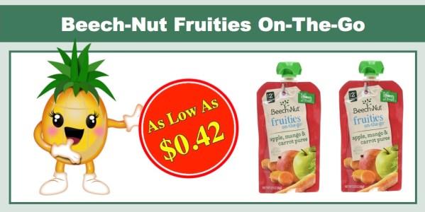 Beech-Nut Fruities On-The-Go Baby Food