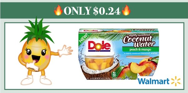 Dole Fruit Bowls in Coconut Water