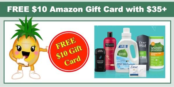 Free $10 Amazon Gift Card
