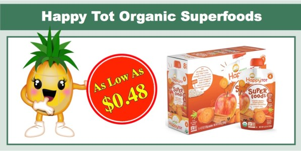 Happy Tot Organic Superfoods