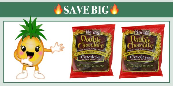 Nana's Double Chocolate Cookies Vegan 12 Pack