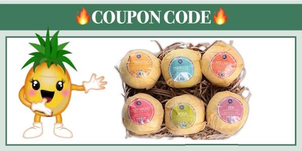 Organic Essential Oils Bath Bombs Gift Set