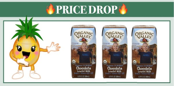 Organic Valley Single Serve Chocolate Milk 24 Pack