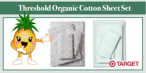 Threshold Organic Cotton Sheet Set
