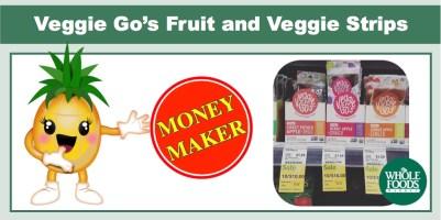 Veggie Go's Fruit and Veggie Strips Coupon