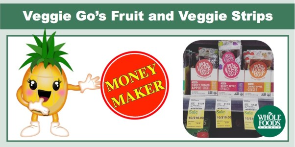Veggie Go's Fruit and Veggie Strips Coupon