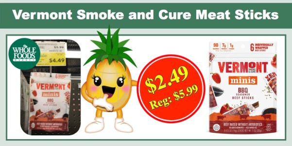 Vermont Smoke and Cure Meat Sticks
