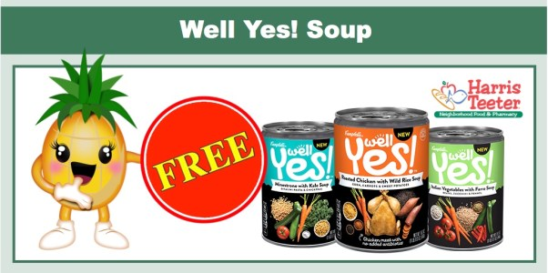 FREE Well Yes! Soup Coupon Deal