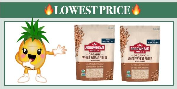 Arrowhead Mills Organic Whole Wheat Flour