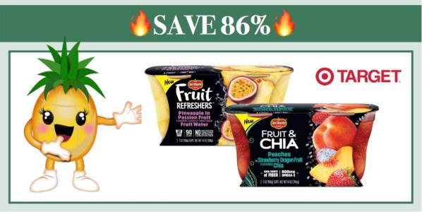 Del Monte Fruit Snacks Coupon Deal