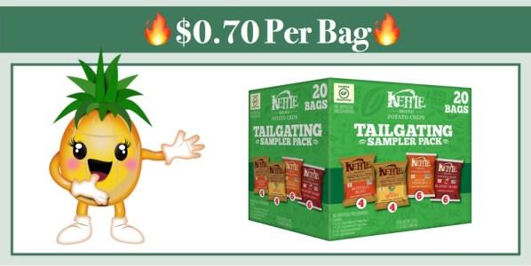 Kettle Brand Potato Chips Tailgating Sampler Variety Pack