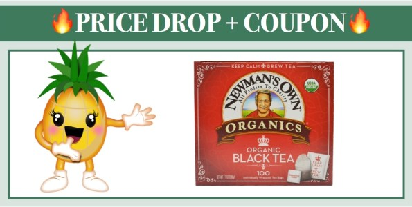 Newman's Own Organics Organic Black Tea 5 Pack