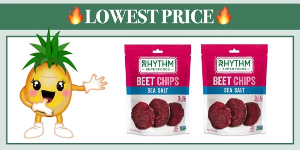 Rhythm Superfoods Beet Chips