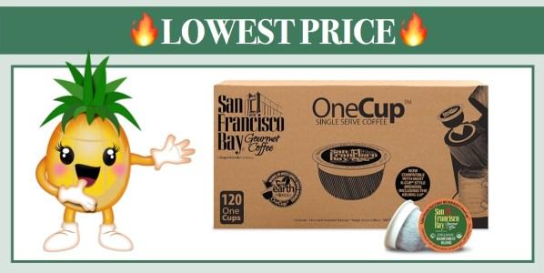 San Francisco Bay OneCup Organic Rainforest Blend 120 Ct