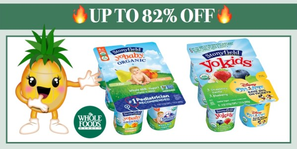 Stonyfield Organic YoKids and YoBaby MultiPacks